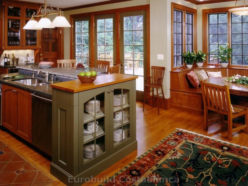 Кухня с террасой фото